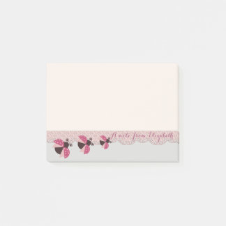Romantic Cute Lovely  Stylish ,Ladybugs Post-it Notes