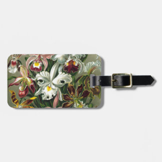 romantic date blossoms rsvp colorful chic luggage tag