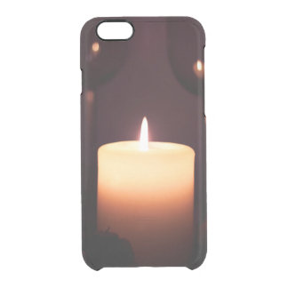 romantic date clear iPhone 6/6S case