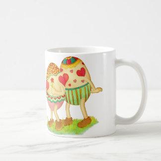 Romantic eggs mug