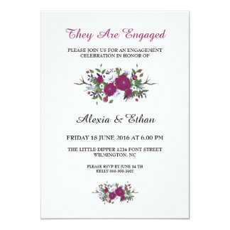 Romantic Engagement Card