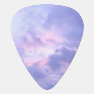 Romantic Evening Sky Guitar Pick