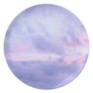Romantic Evening Sky Plate