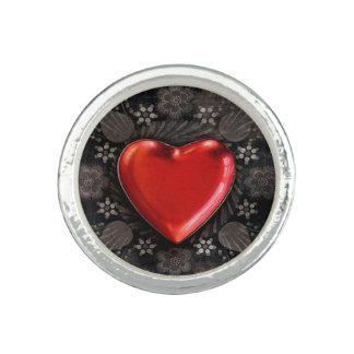 Romantic Floral Heart Valentine Love