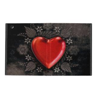 Romantic Floral Heart Valentine Love iPad Case