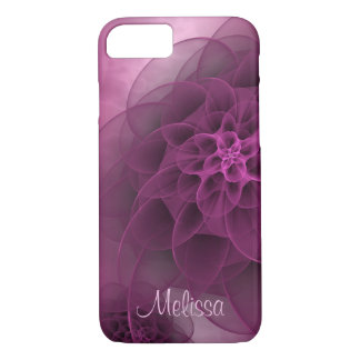 Romantic Floral in Wine iPhone 8/7 Case