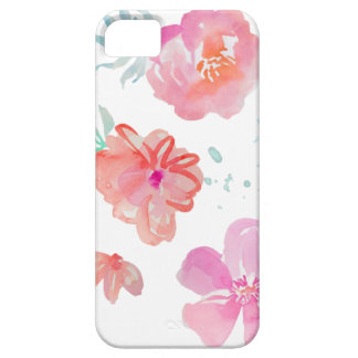 Romantic Floral Pink Watercolor Cool & Elegant for Case For The iPhone 5