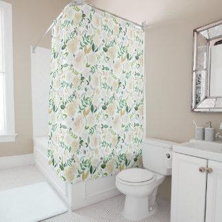 Romantic Floral Shower Curtain