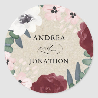 Romantic Florals Sticker