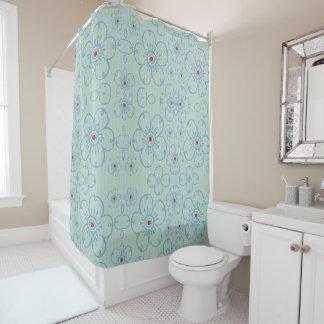 Romantic Flowers - Shower Curtain