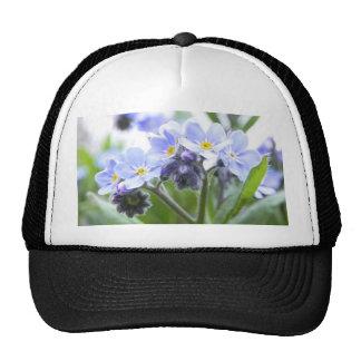 Romantic Forget Me Nots Hat
