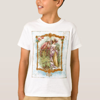 Romantic French Couple 18th Century T-Shirt