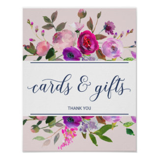 Romantic Garden Cards and Gifts Sign
