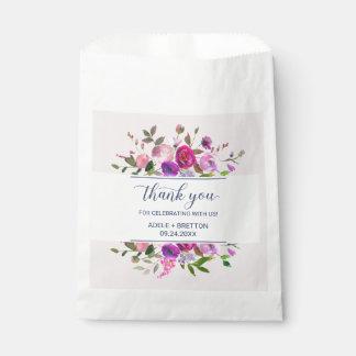 Romantic Garden Thank You Favour Bag