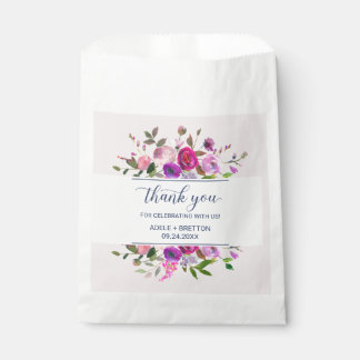 Romantic Garden Thank You Favour Bags