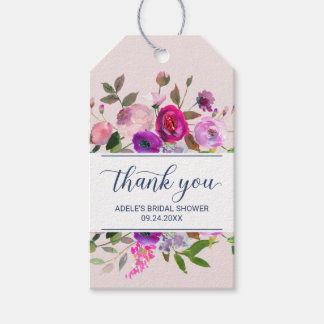 Romantic Garden Thank You Gift Tags
