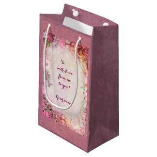 Romantic Gift Bag with Your Text
