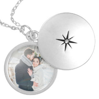 Romantic Gift | Your Personal Photo Silver Plated Necklace