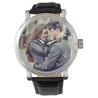 Romantic Gift | Your Personal Photo with Numbers Watch