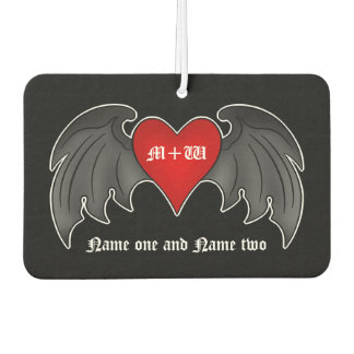 Romantic goth heart | Valentines+day Car Air Freshener
