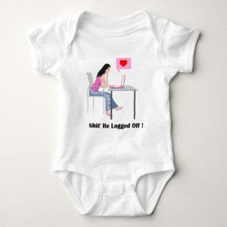Romantic Image And Quote Baby Bodysuit