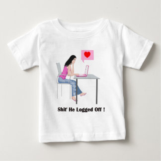Romantic Image And Quote Baby T-Shirt