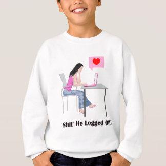 Romantic Image And Quote Sweatshirt