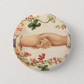Romantic Irish Wedding Button