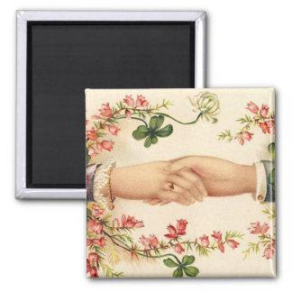 Romantic Irish Wedding Magnet Favors