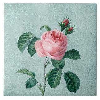Romantic Lace Rose Tile