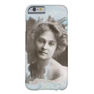 Romantic lady, vintage photo, iPhone 6/6s case