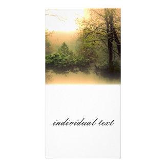 romantic landscape photo card