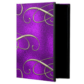 Romantic Lilac Christmas Swirls Powis iPad Air 2 Case