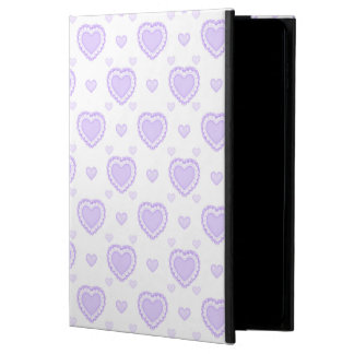 Romantic Lilac & White Hearts Powis iPad Air 2 Case