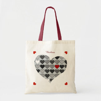 romantic love hearts red personalized