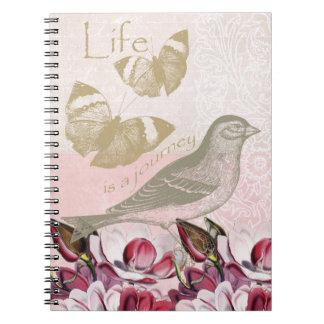 Romantic Magnolias Note Books