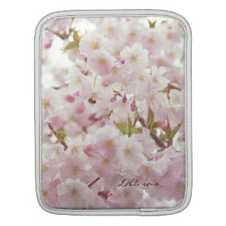 Romantic Mood - Soft Tones, Cherry Blossoms iPad Sleeve