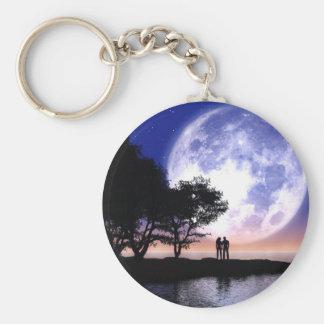 Romantic Moonlight Key Ring
