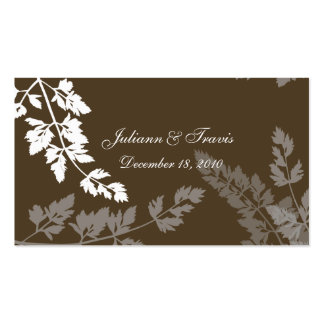 Romantic Nature/ Escort Card Pack Of Standard Business Cards