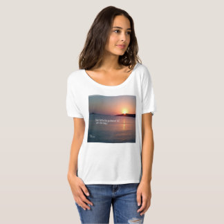 Romantic Ocean Sunsets for your Love's T T-Shirt