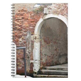 Romantic Old Venice Notebook