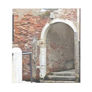 Romantic Old Venice Notepad
