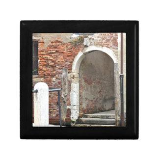Romantic Old Venice Small Square Gift Box