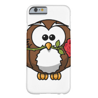 Romantic owl barely there iPhone 6 case