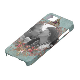 Romantic Photo Frame Scrapbook Style Barely There iPhone 5 Case