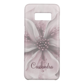 Romantic Pink and White Floral Case-Mate Samsung Galaxy S8 Case