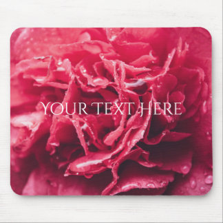 Romantic Pink Flower Closeup | Mouse Pad