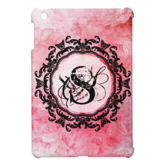 Romantic Pink Old Rose Chic Pattern Case For The iPad Mini