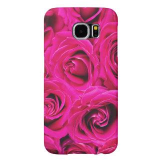 Romantic Pink Purple Roses Pattern