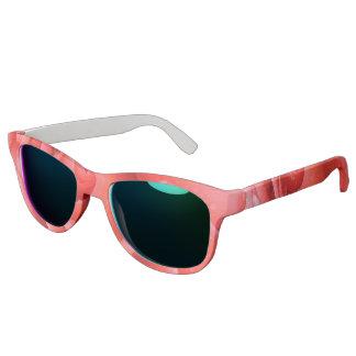 Romantic Pink Rose Water Drops Sunglasses